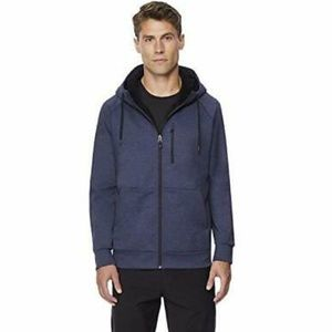 32 DEGREES Mens Fleece Tech Sherpa Lined Hoodie
